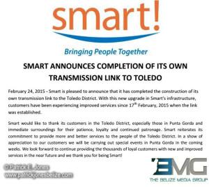 SMART press release