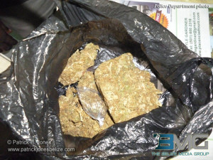Marijuana found in police raid
