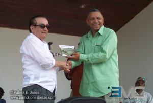 Hector Silva & Mayor Earl Trapp
