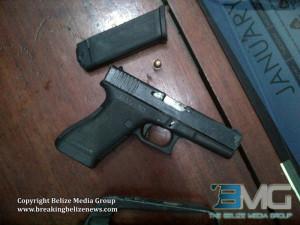 Illegal firearm