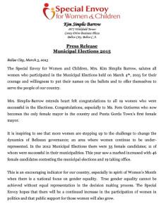 Special Envoy's statement