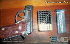 Unlicensed ammunition found