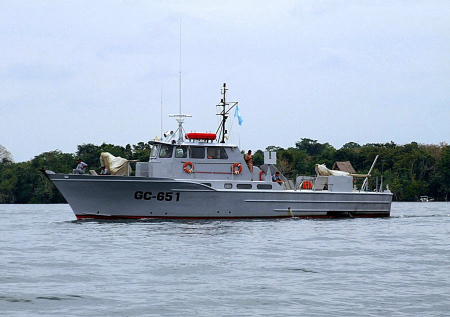Guatemalan military vessel removed from Belize's Reef and allowed to return to Guatemala diverging from established protocol
