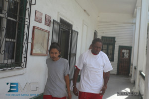 Cesaro Choco left and Charles Middleton charged with murder