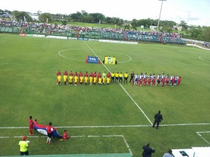 belize national team belize vs dominican republic