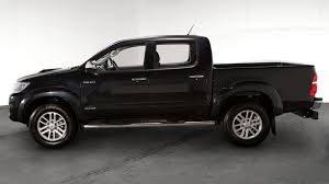 black hilux truck
