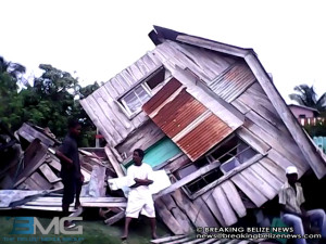 Lauren Prince house collapsed