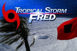 Tropical depression Fred