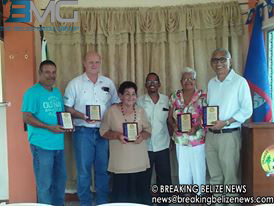 orange walk honorees
