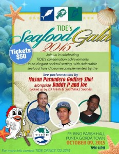 TIDE FIsh Fest Seafood Galla Flyer