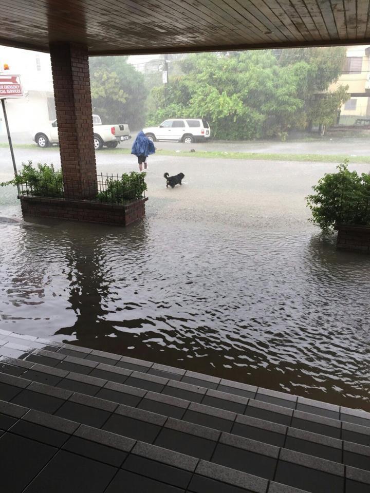 flooding in belize 2015