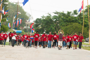 Nomination day in Belize1