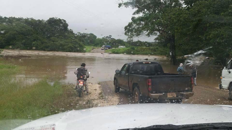 flooding in belize