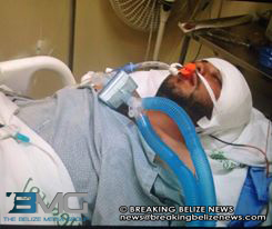hospitalized man