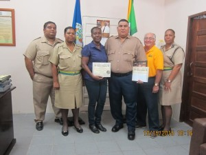November 2015 officers of the month