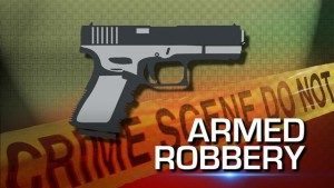 armed robbery banner