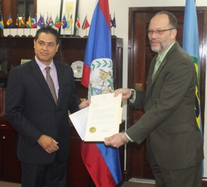 new ambassador to CARICOM