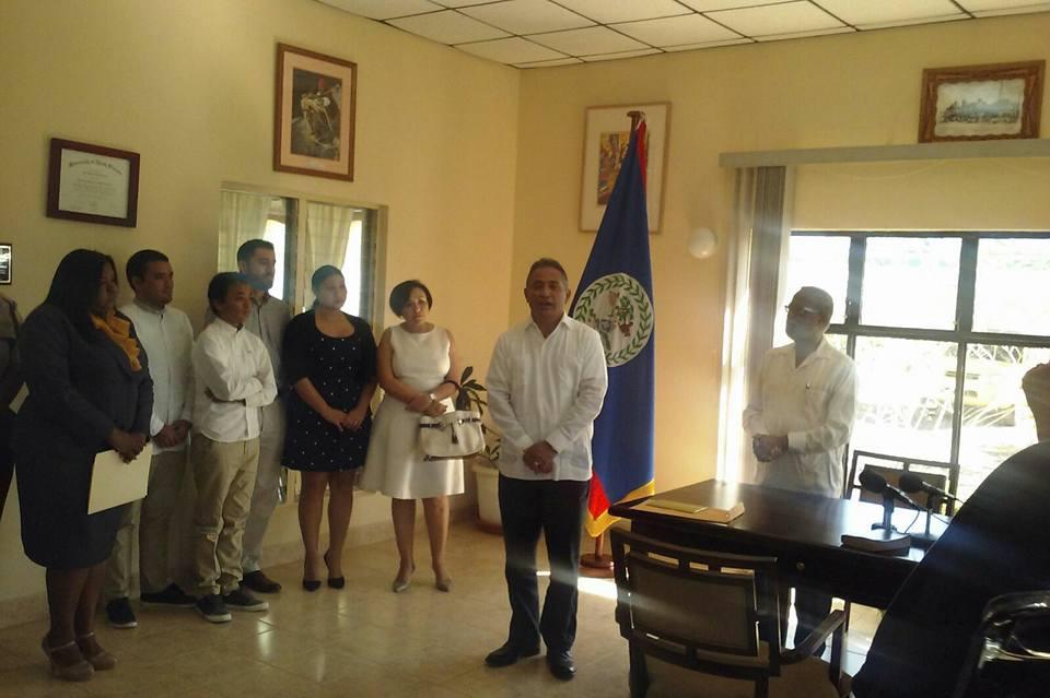 Briceño sworn in 01