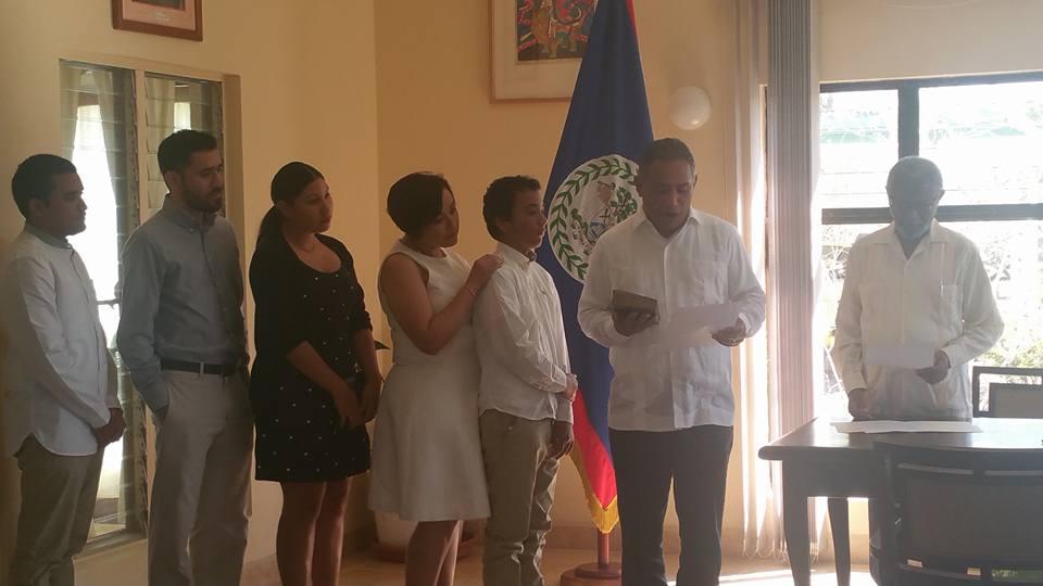 Briceño sworn in 02