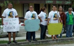 Sabido's protest 01