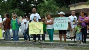 Sabido's protest 02