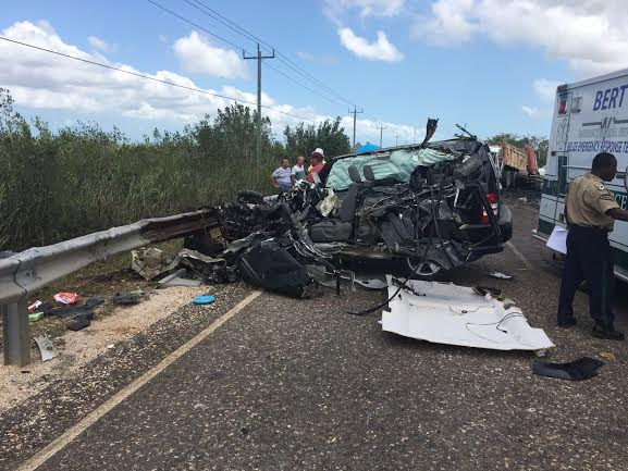 traffic accident in Belize