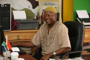 Garifuna leader
