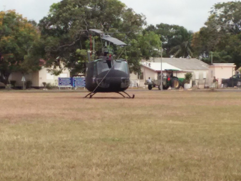 helicopters belize
