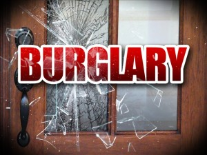 burglary banner