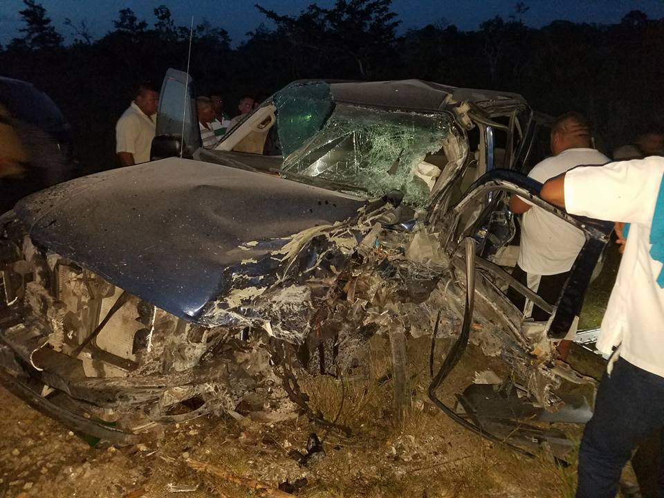 traffic accident on philip goldson highway belize