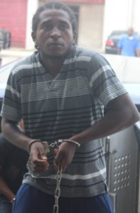 CROP 1 AH pic of one of 5 men charged for Llewellyn Lucas murder%252c IMG_0531