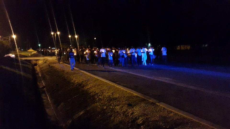 #IWantMyCountryBack vigil held in Belmopan