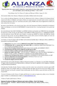 Alianza-Press-Release