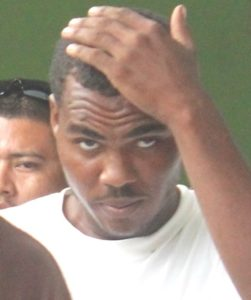 CROP 1 AH pic of Jermaine Wagner for handling Chef Ainsley stolen items%2c IMG_0373
