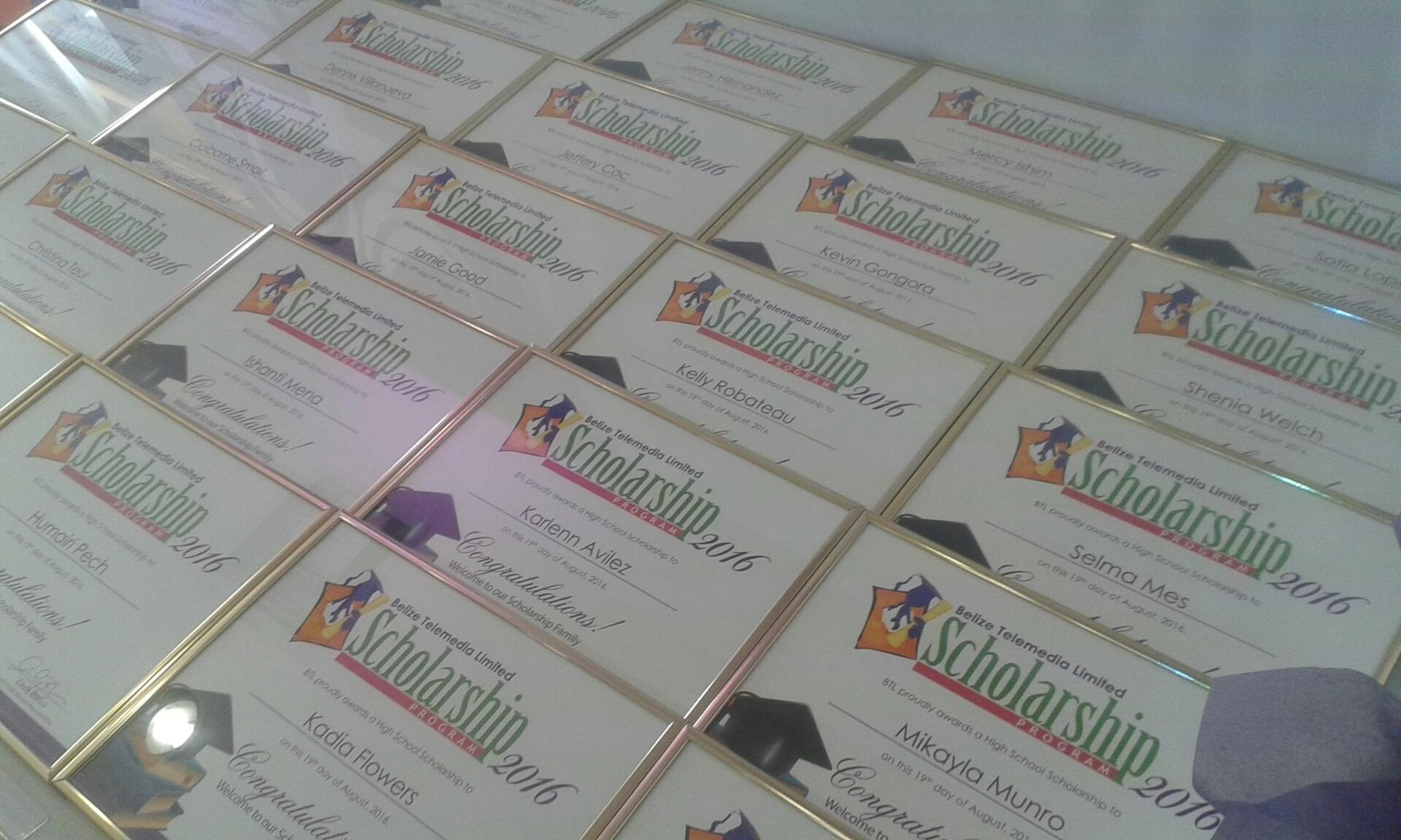 btl scholarships belize