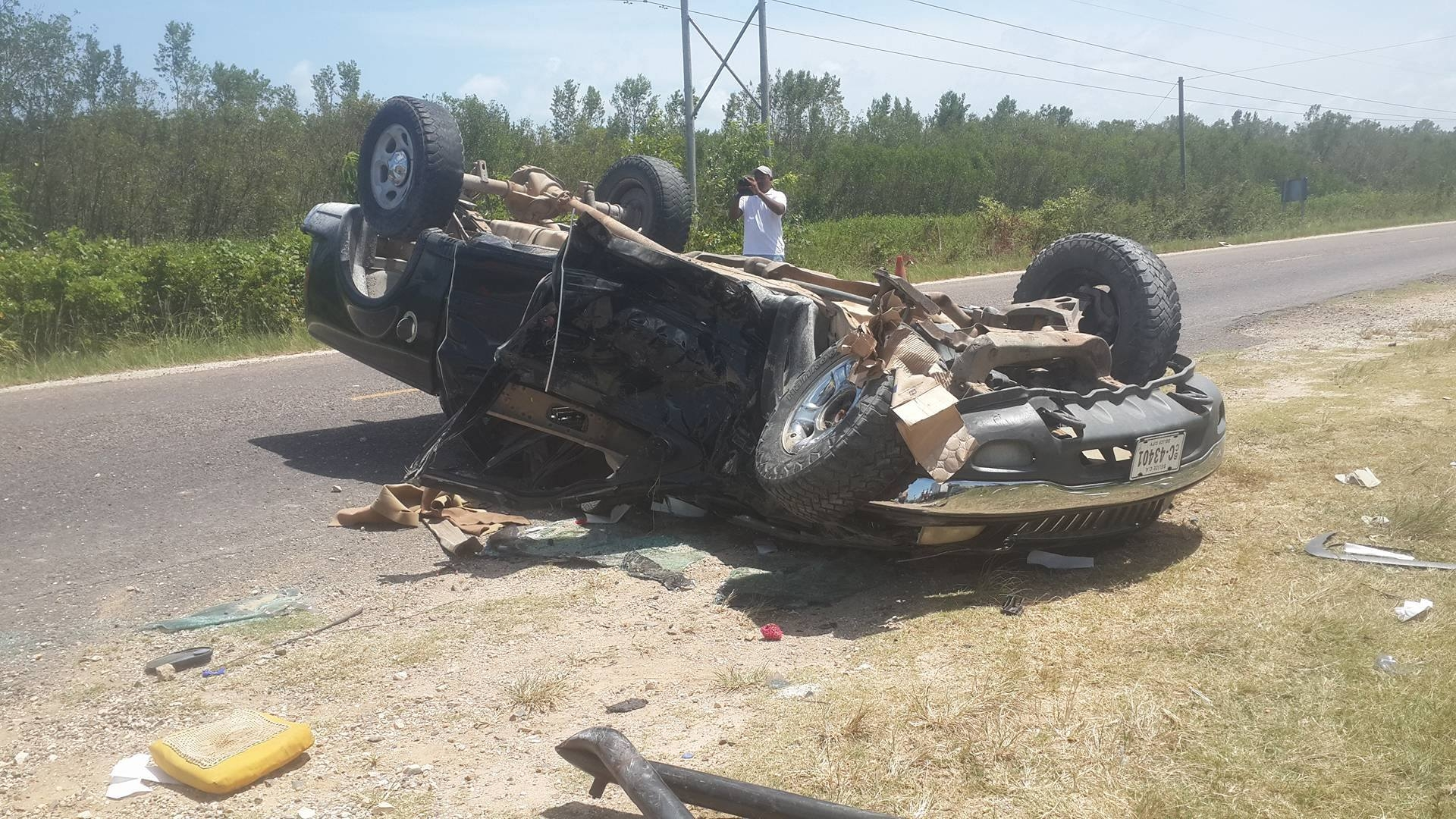 serious accident in belize