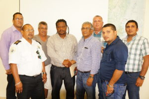 Guatemalan bus company meet with Ministry of Transport to discuss transit through Belize