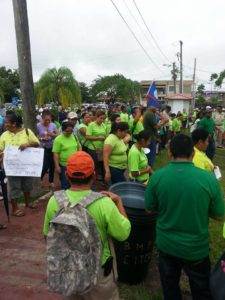 bntu-demonstration-in-belmopan
