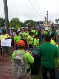 bntu-demonstration-in-belmopan