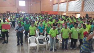 Cayo teachers press for expanded strike; BNTU management to make decision; getting support from social partners