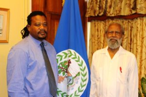 Edmond Castro sworn in as Minister of Transport and NEMO