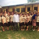 Governor General visits schools in Benque Viejo.