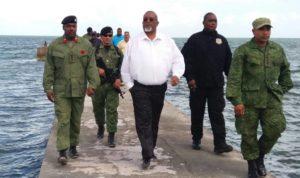 US Embassy monitoring Minister Saldivar's use of Coast Guard vessels