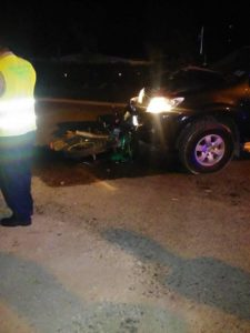 Traffic accident claims one life on the Hummingbird Highway