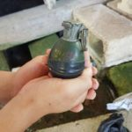 BDF bomb expert to dispose of found grenade