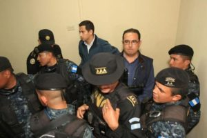 Jimmy Morales' brother and son detained on corruption charges