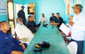 Defense minister continues National Tour of Belize Coast Guard facilities