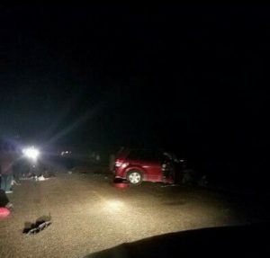 Road traffic accident in southern Belize sends 7 people to the hospital