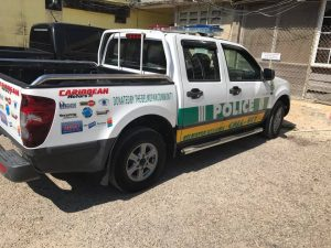 Belmopan businesses donate new vehicle to police