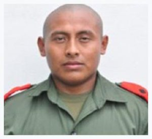 BDF officer is #1 in Guyana